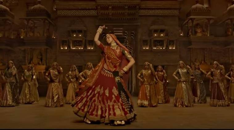 Padmavati actor Deepika Padukone: Shooting the Ghoomar
