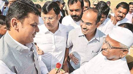 Devendra Fadnavis, Anna Hazare, pune news, Maharashtra CM, unemployed youth, indian express