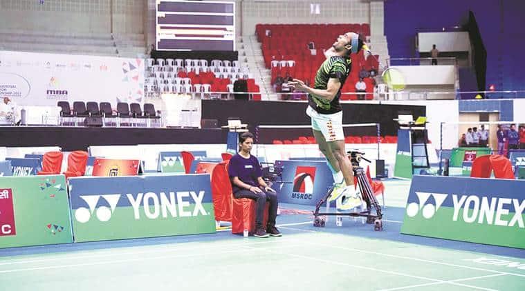 Subhankar Dey, B Sai Praneeth, Senior National Championships, sports news, badminton, Indian Express