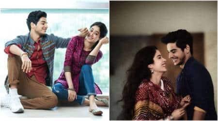 Janhvi Kapoor and Ishaan Khatter star in Dhadak