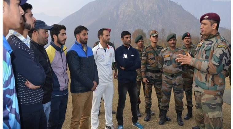 Mahendra Singh Dhoni said that the decision on India Pakistan series lies with the government.