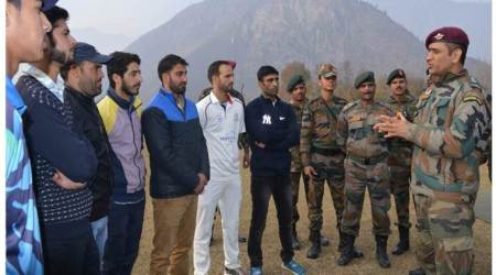 Pakistan slogan repeated  in Budgam cricket match