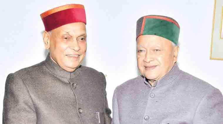Hiamchal Pradesh elections, Himachal pradesh polls, Virbhadra Singh, Dhumal