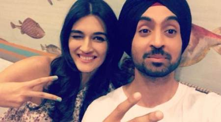 Arjun Patiala: Journalist Kriti Sanon meets small town guy Diljit Dosanjh and we already sense a crackling chemistry