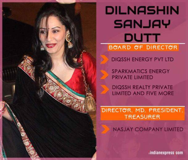 manyata dutt, sanjay dutt wife, dilnashin sanjay dutt, Paradise Papers photos, paradise papers Indian Express images, panama papers express investigation pics,