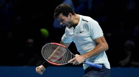 ATP Finals: Grigor Dimitrov snaps Jack Sock jinx, rises to World No. 3