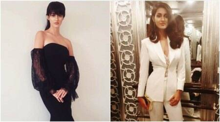 Disha Patani works lace and monochrome like a pro and it's absolutely stunning