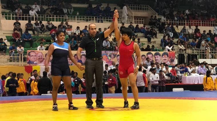 Divya Kakran won her first gold medal in national Wrestling championship