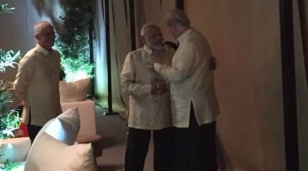 PM Modi attends gala dinner at ASEAN, meets US President Donald Trump, Chinese Premier Li Keqiang