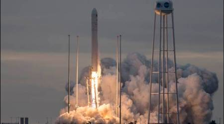 Supplies headed to space station after Virginia launch