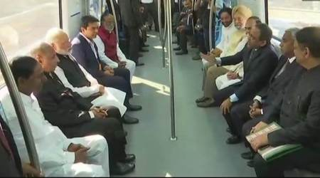 PM Modi inaugurates first phase of Hyderabad metro, says no question of discrimination against states