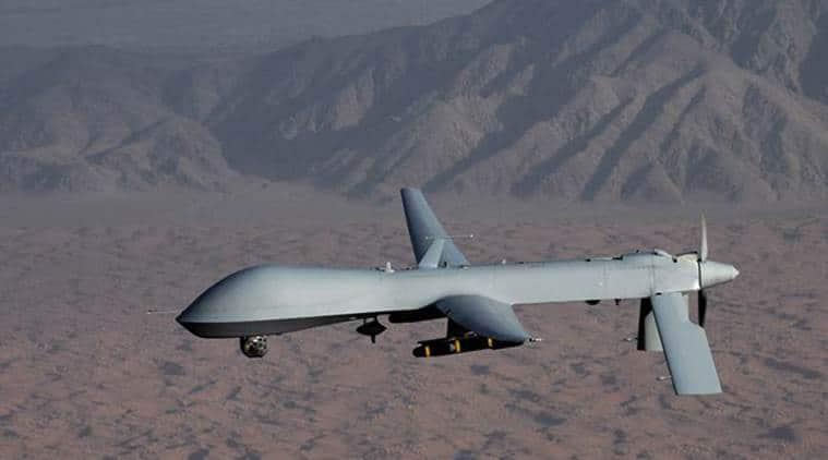 US Somalia Strikes, Somalia IS Strikes, US Somalia IS Strikes, US Drone, US Strikes Somalia IS, World News, Latest World News, Indian Express, Indian Express News