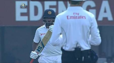 Did Perera, like Smith, get help on DRS?
