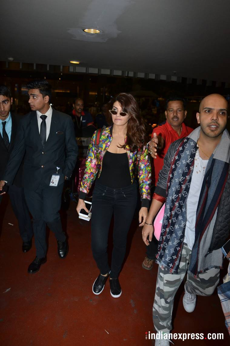 Jacqueline Fernandez, Jacqueline Fernandez fashion, Jacqueline Fernandez style, Jacqueline Fernandez airport style, Jacqueline Fernandez news, Jacqueline Fernandez latest photos, Jacqueline Fernandez in gucci, celeb fashion, bollywood fashion, indian express, indian express news