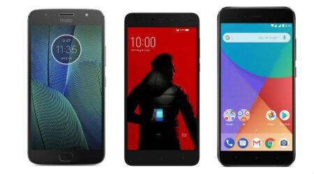 top dual camera mobiles under Rs 15000 Moto G5s Plus Xiaomi Mi A1