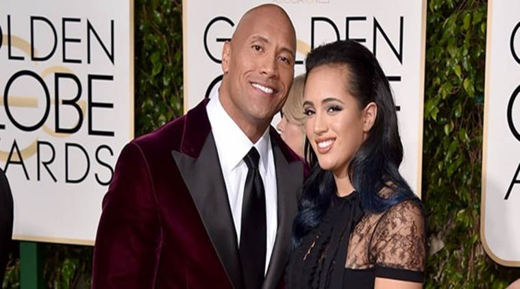 Dwayne 'the Rock' Johnson's daughter is the 1st Golden Globe ambassador