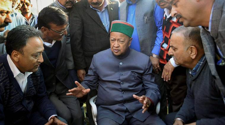 Himachal Pradesh election, Himachal election, Congress Manifesto, BJP manifesto, election 2017, Virbhadra Singh, BJP Congress Himachal, India News, Indian Express
