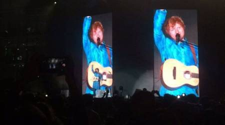 Ed Sheeran Mumbai concert: Highlights