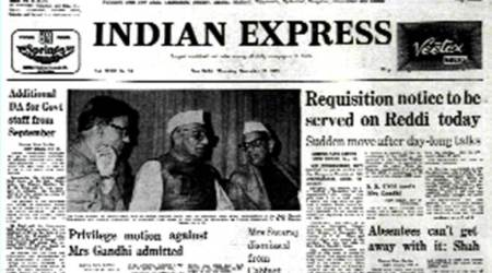 November 17, 1977, Forty Years Ago: Sushma Sacked