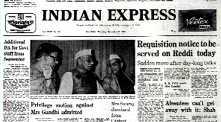 November 17 1977, indian express Forty Years Ago, Forty Years Ago, sushma swaraj