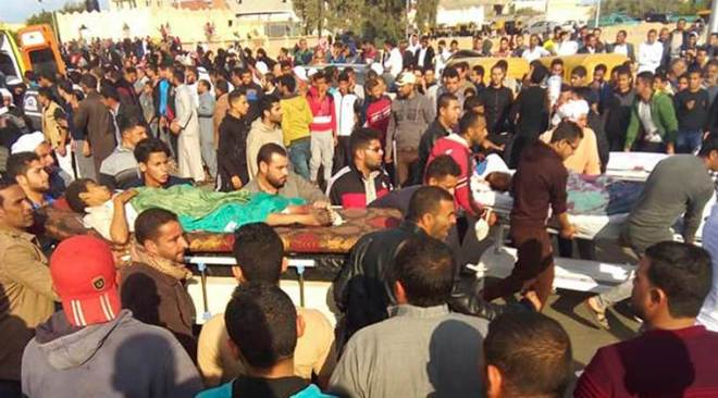 Egypt attack: See what happened at the North Sinai mosque