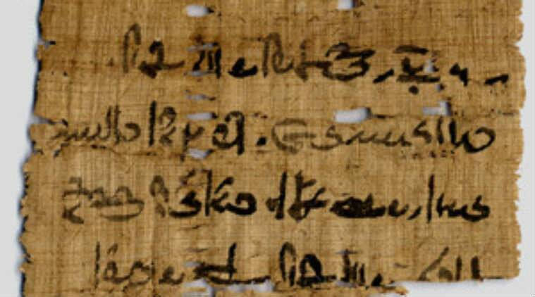 The University of Copenhagen has found copper in traces on black ink used in ancient Egyptian scribes