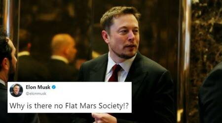 Elon Musk asks why isn't there a Flat Mars Society? The Flat Earth Society promptlyresponds