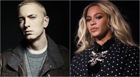 "Eminem collaborates with Beyonce for ""Walk on Water"""