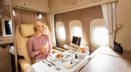 You have to see this: Emirates unveils uber luxury first class suites for complete privacy