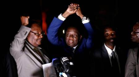 Blast in Zimbabwe during Mnangagwa's campaign; no casualties reported