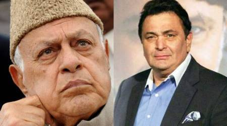 Complaint filed against Farooq Abdullah, Rishi Kapoor for PoK comment
