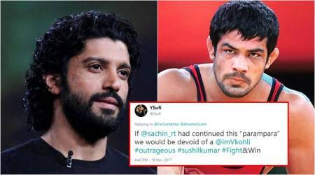 Farhan Akhtar's tweet on Sushil Kumar's gold medal leaves Twitterati divided