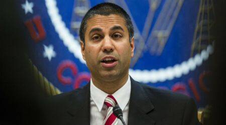 US net-neutrality rules, Federal Communications Commission, FCC chief Ajit Pai, Obama-era rules, At&T, ComCast, President Donald Trump, web traffic, broadband providers, content providers, Netflix, Facebook, web startups