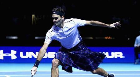 Roger Federer beats Andy Murray wearing a kilt; watch video