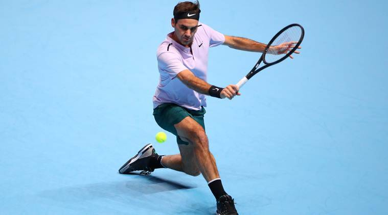 roger federer at atp tour final london