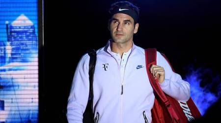 Roger Federer hits bottle placed on man's head twice, watch video