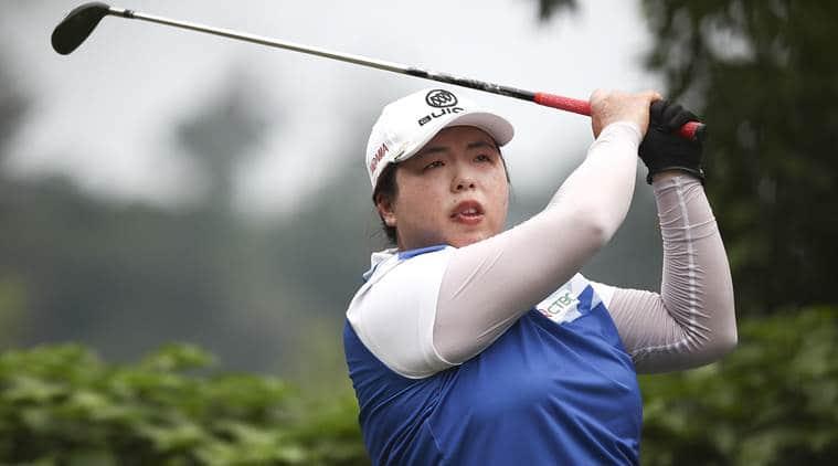 Shanshan Feng, Blue Bay LPGA, Moriya Jutanugarn, Megan Khang