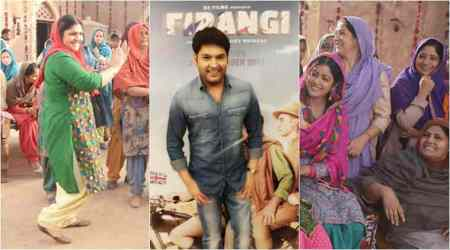 Firangi: Kapil Sharma to share screen with mom and sister in the period drama. See photos