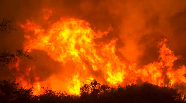 California wildfire, wildfire, US California wildfire, US wildfire, wildfire, world news, latest world news, indian express, indian express news