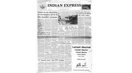 Forty Years Ago, November 3, 1977: Emergency power-cut