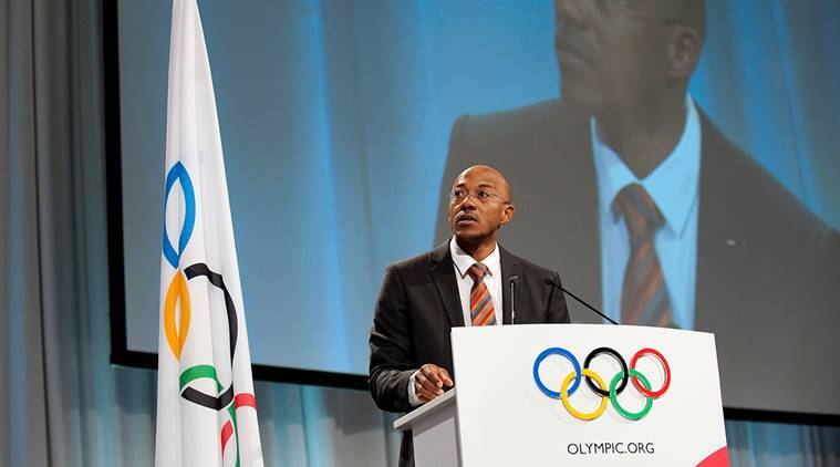 Frankie Fredericks, Frankie Fredericks suspended, IOC, International Olympic Committee, sports news, Indian Express