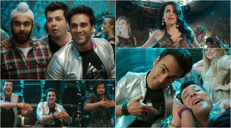 "the makers of fukrey returns have released the first track, ""Mehbooba"""