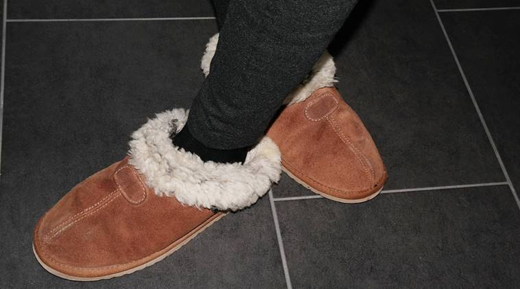 shoes, footwear, accessories, furry shoes, crystal buckles, tasselled shoes, indian express, indian express news