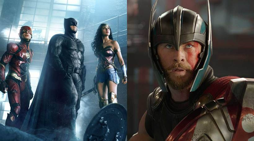 thor ragnarok justice league box office in india