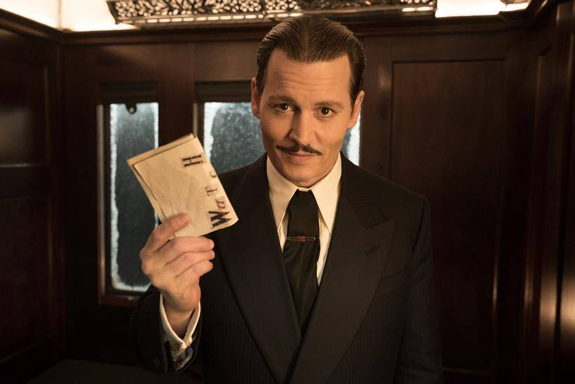 murder on the orient express is directed by kenneth branagh and stars johnny depp judi dench and others