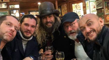 Is Jason Momoa returning to Game Of Thrones. These pictures suggest so
