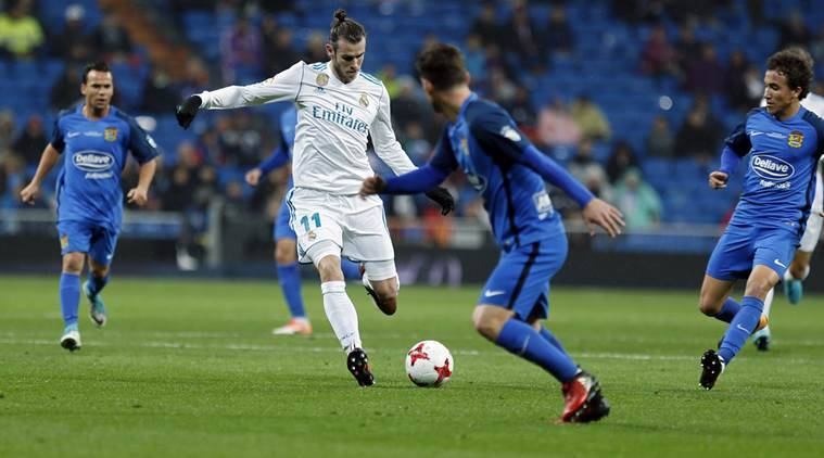 Gareth Bale leads Real Madrid into next round of Copa del Rey