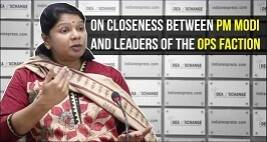 DMK Leader Kanimozhi Speaks About Closeness Between PM Modi And Leaders Of The OPS Faction
