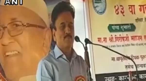 Girish Mahajan, BJP leader, Maharashtra water resources minister, express news, india news