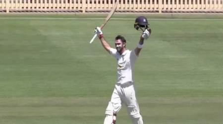 Glenn Maxwell hammers 213* against New South Wales in Sheffield Shield